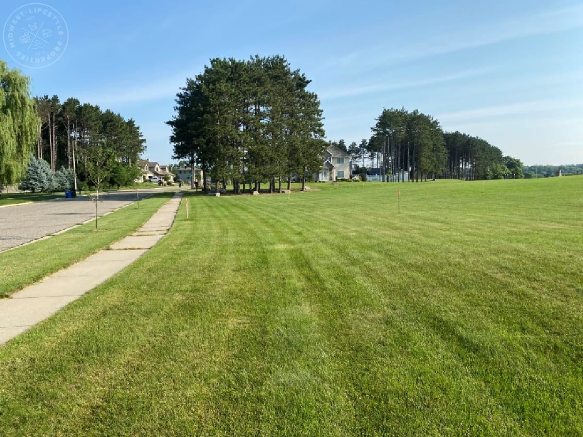 Portage WI Buildable Lot in Town for Sale