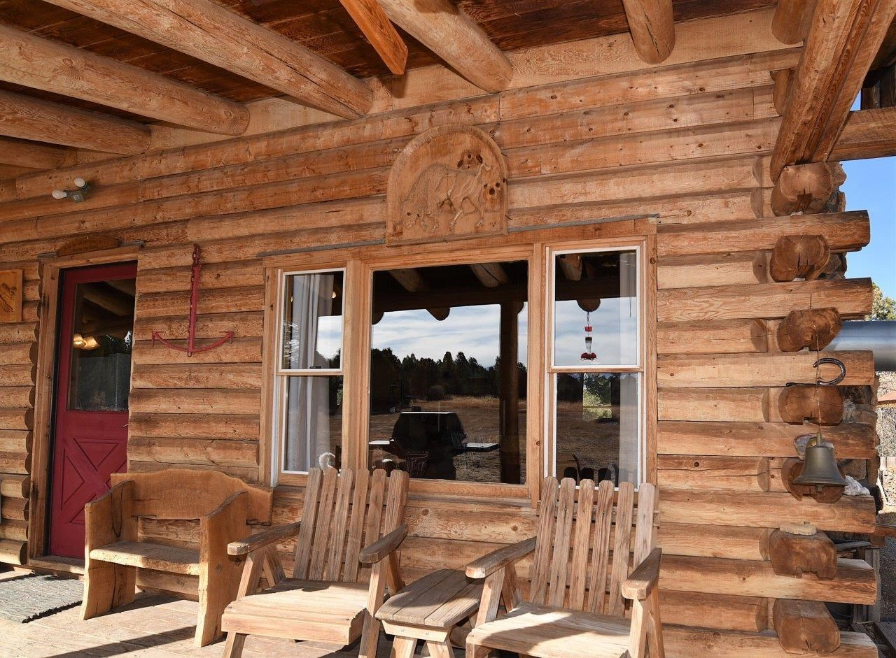 Mountain Log Home For Sale Log Hill, Montrose, Colorado
