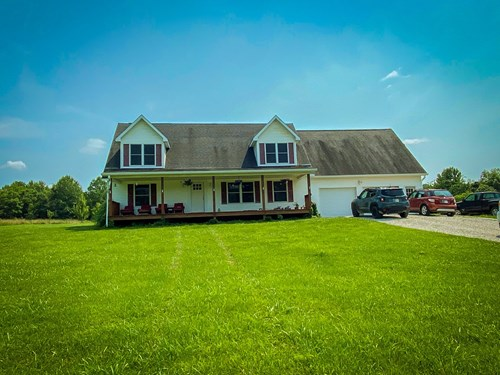 South Central Indiana Country Home for Sale   Greene County