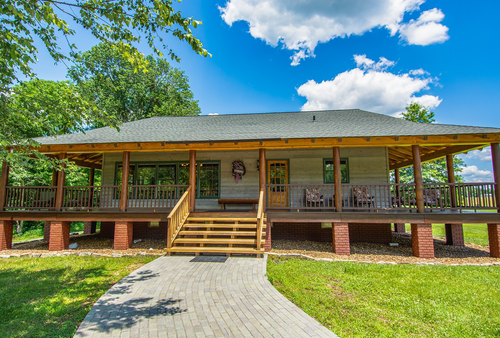 Pending Cabin on the Cumberland River, Albany KY