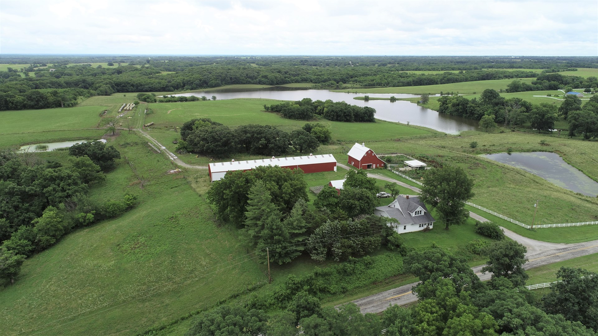 Tract 8 – Nice Country Home on 43+/- Acres, Chillicothe, MO