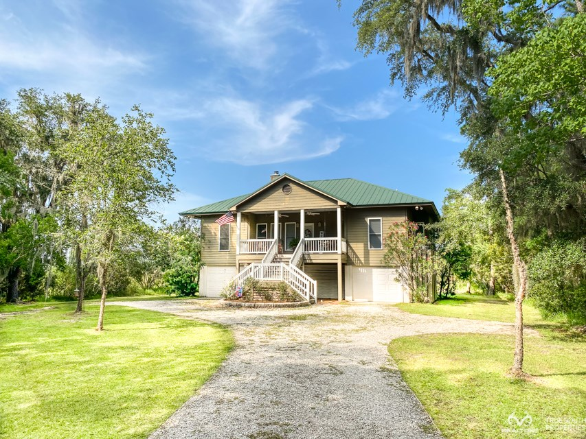 Cassique Creek Lowcountry Marshfront Home