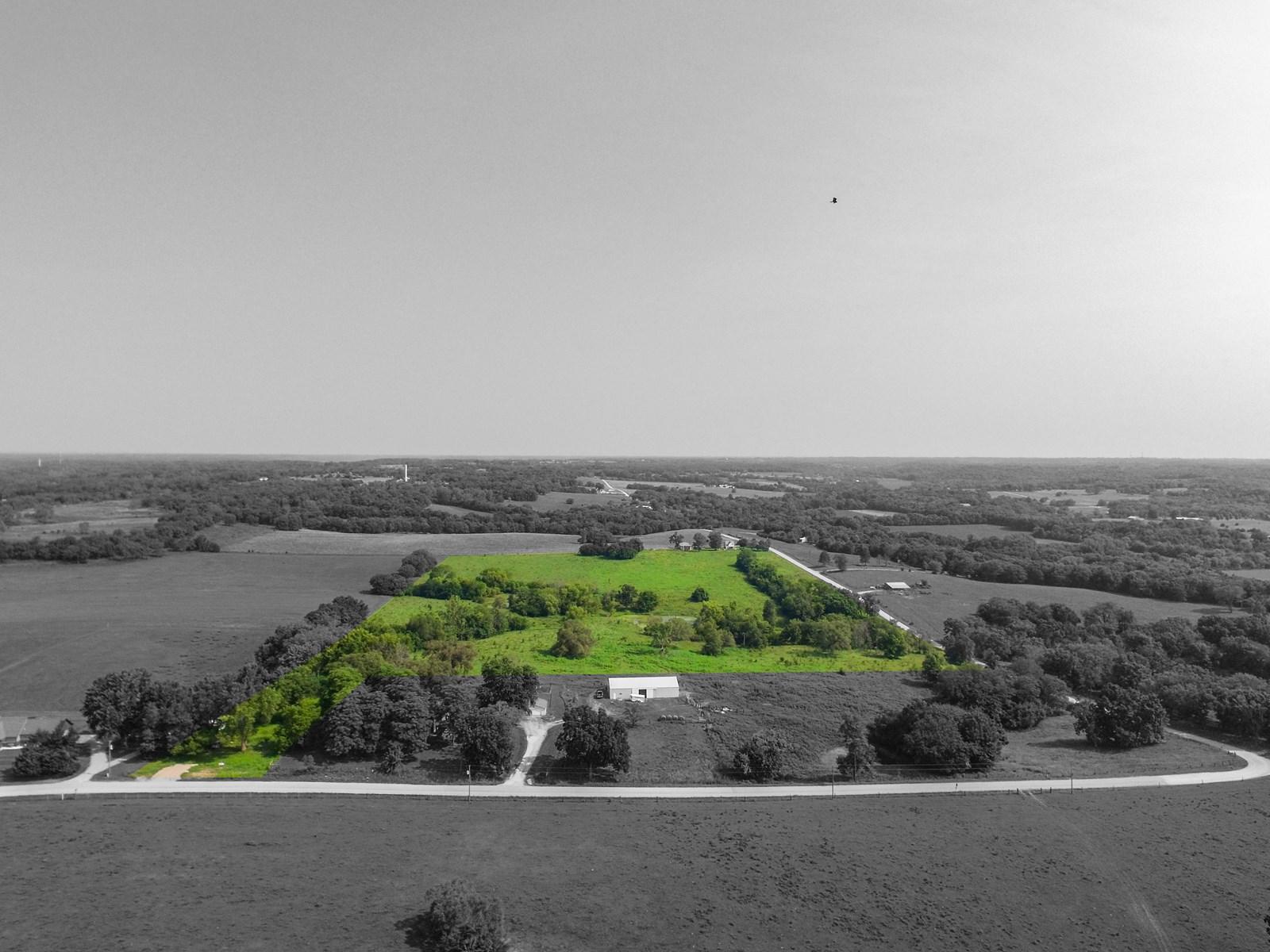 Kansas Land for Sale, Jefferson County Recreational Land