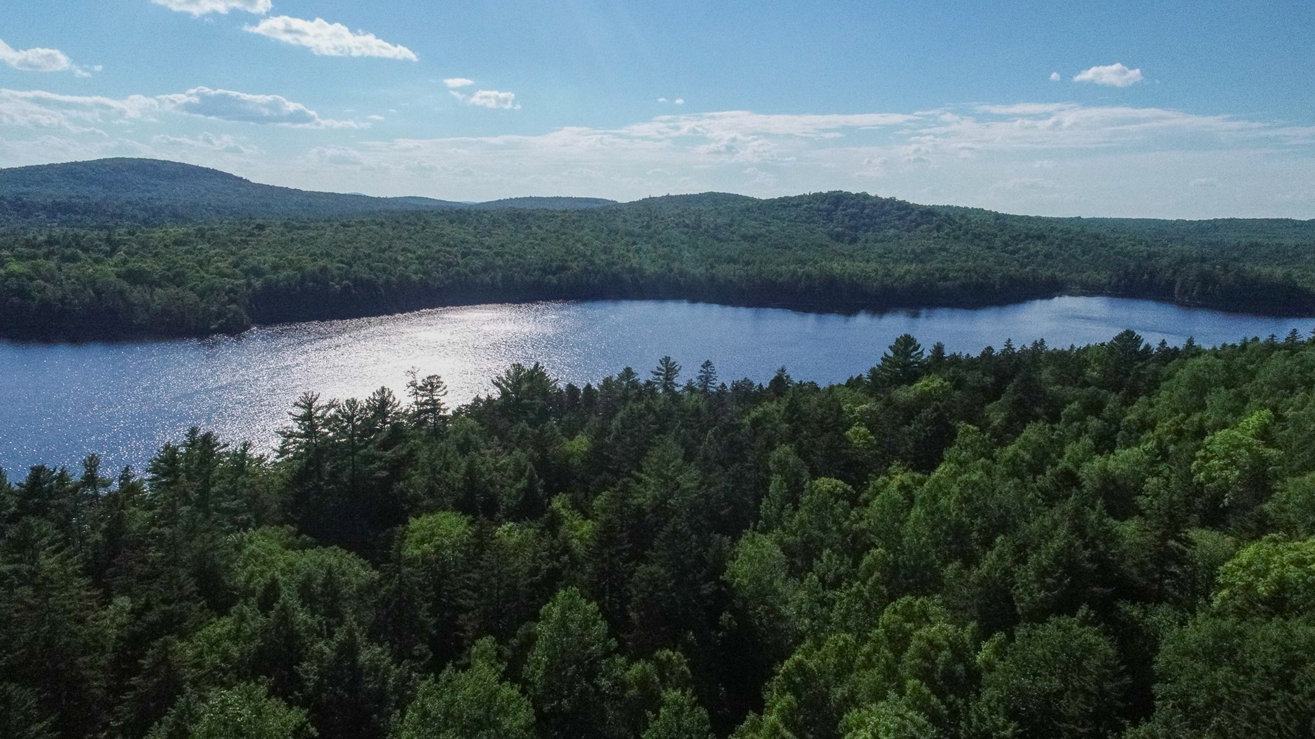 Land on Lombard Lake