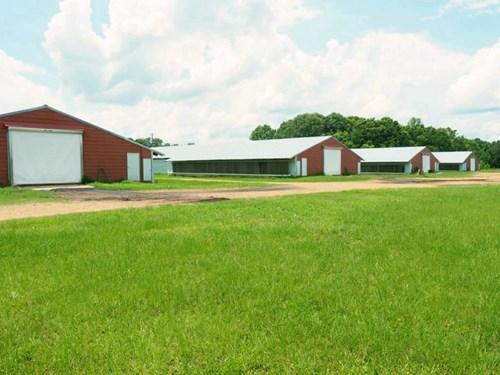 4 House Broiler Poultry Farm For Sale Southwest MS