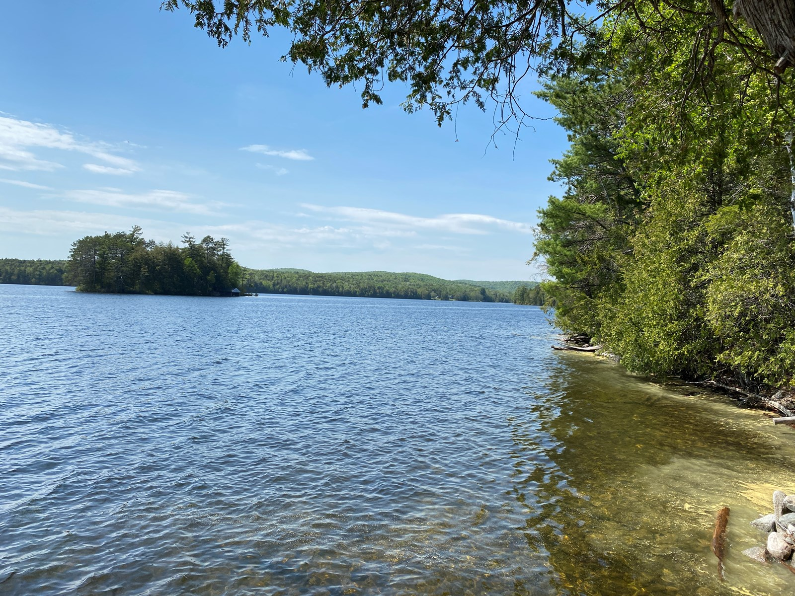 Maine Lakefront Land For Sale