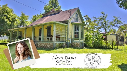Historic Home in Mammoth Spring, AR