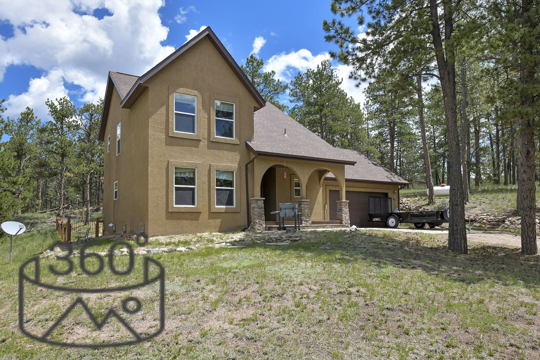 Colorado Stucco Mountain Home