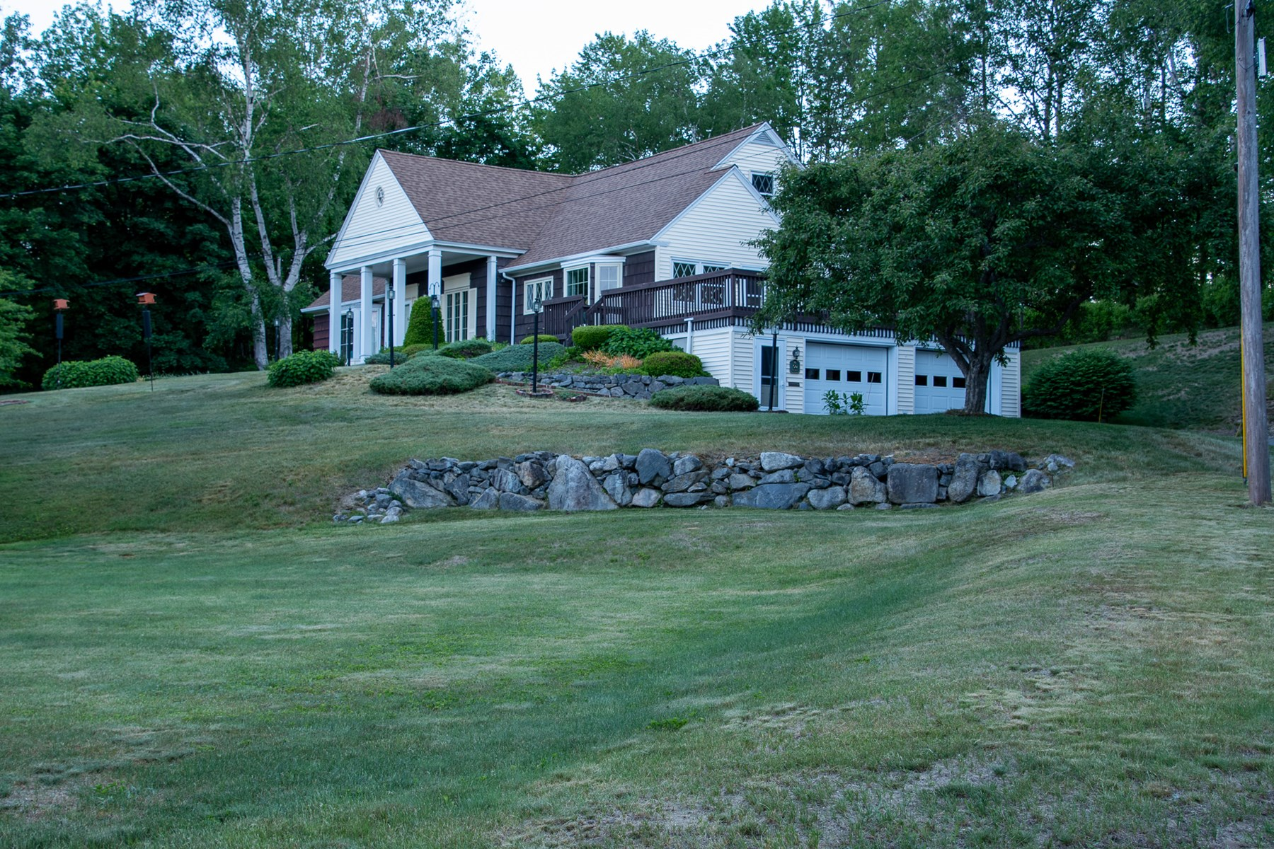 Contemporary Cape home in Millinocket, Maine
