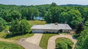 WISCONSIN HOME FOR SALE WITH 70 ACRES, WAUPACA CO.