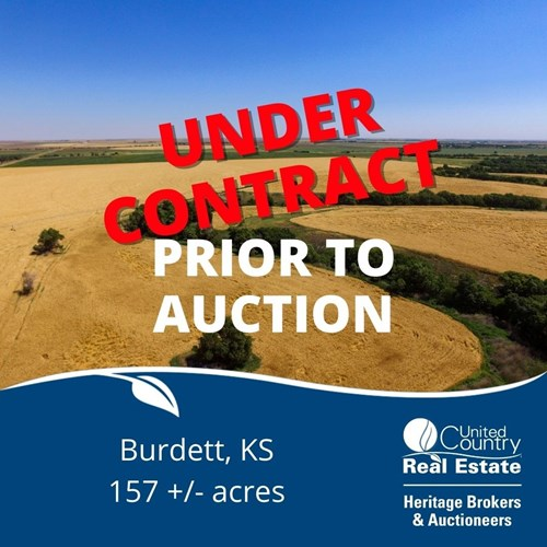 Online Auction Irrigated Cropland Hodgeman County KS