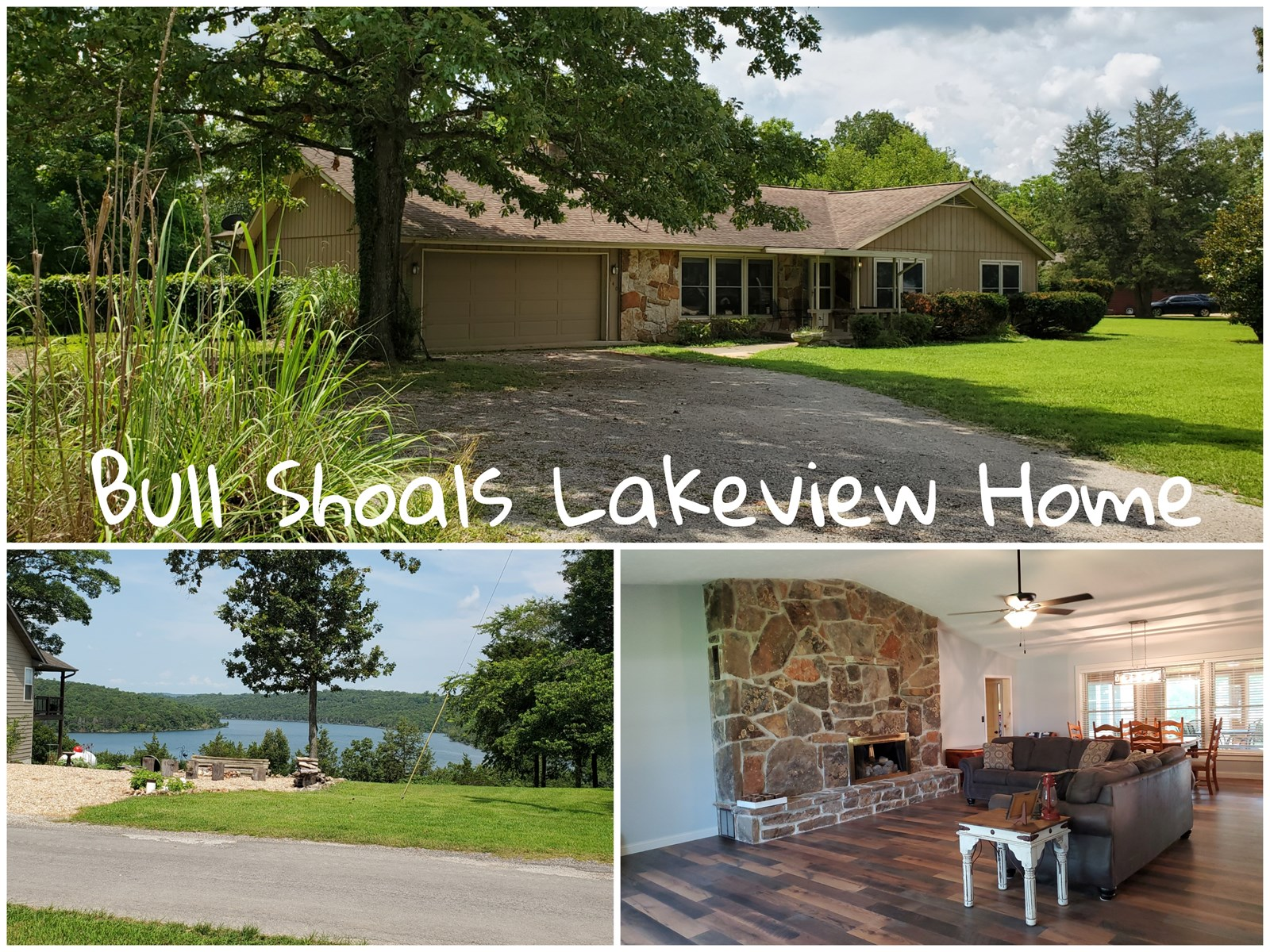 Lake View Home for Sale in Southern Missouri Ozarks
