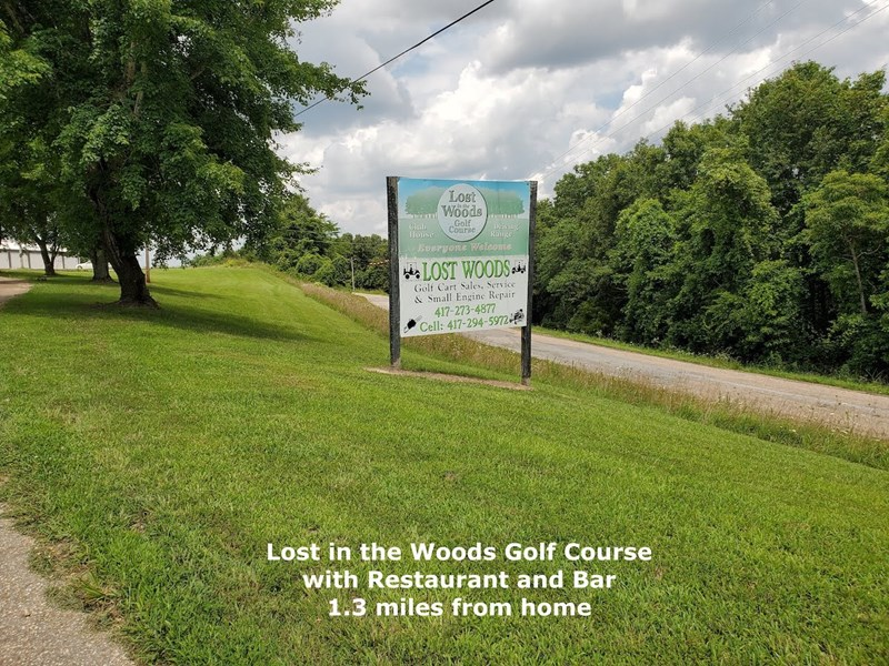 Lost in The Woods Golf Course