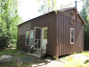DOWNEAST MAINE HUNTING CAMP FOR SALE