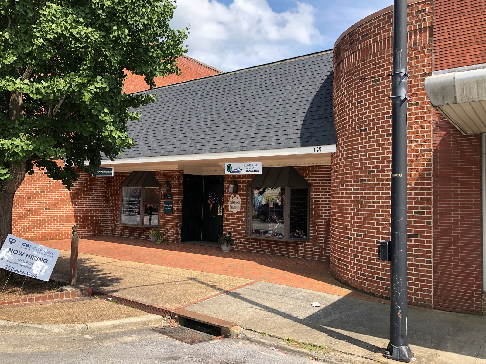 Great investment property in downtown Williamston, NC