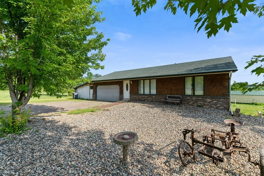 4 Bedroom Rambler Home located on 5 acres in Milaca