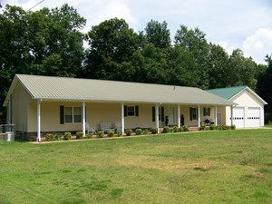 HOME FOR SALE WITH SHOP, FENCING, FRUIT TREES, CREEK