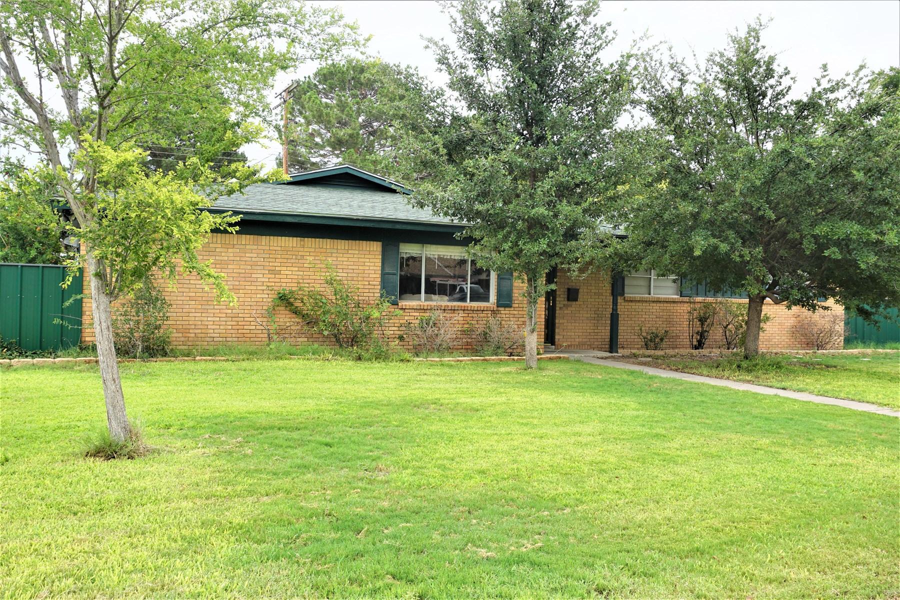 Fort Stockton House For Sale 303 S Mendel Pecos Co.