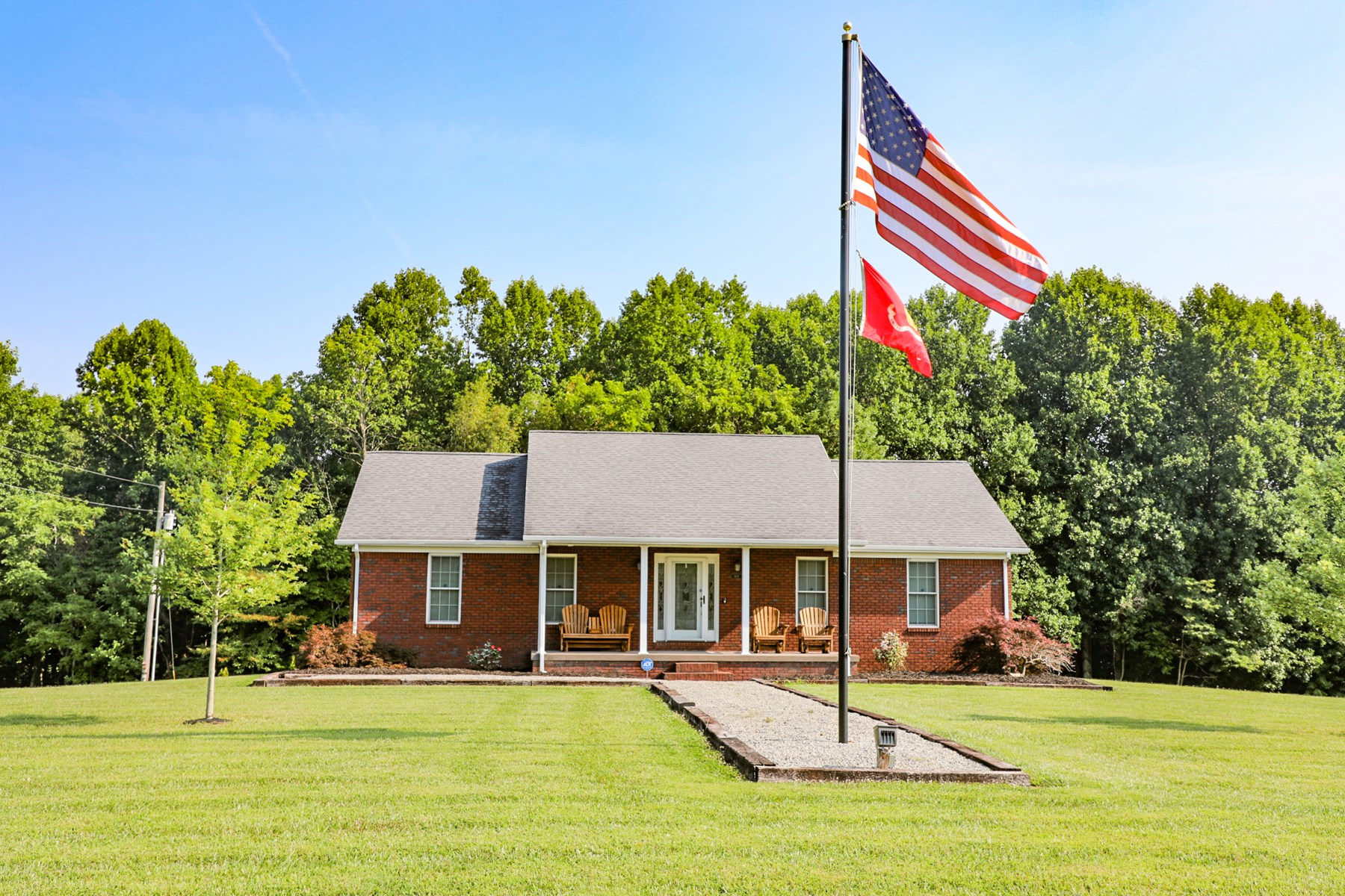 Central Kentucky Country Home, 4.85 ac, Finished Basement