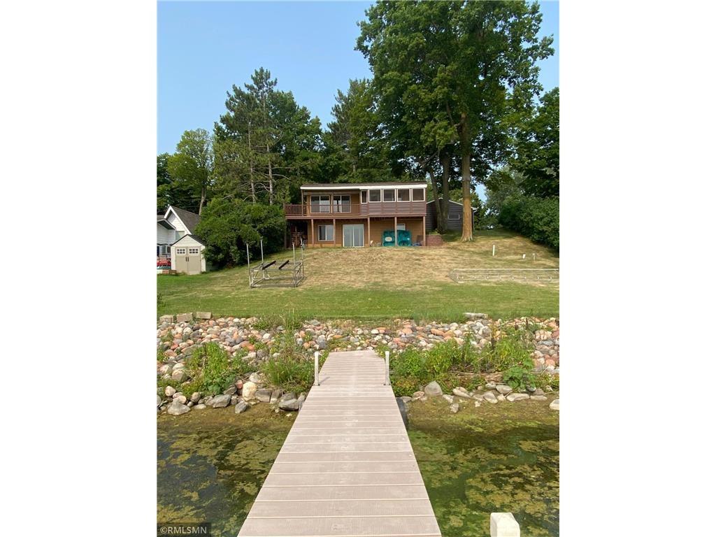 Lake Home For Sale on E Rush Lake, Rush City, MN Lake Cabin
