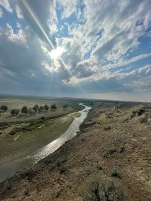 PENDLETON RANCH ON MONTANA'S MUSSELSHELL RIVER FOR SALE