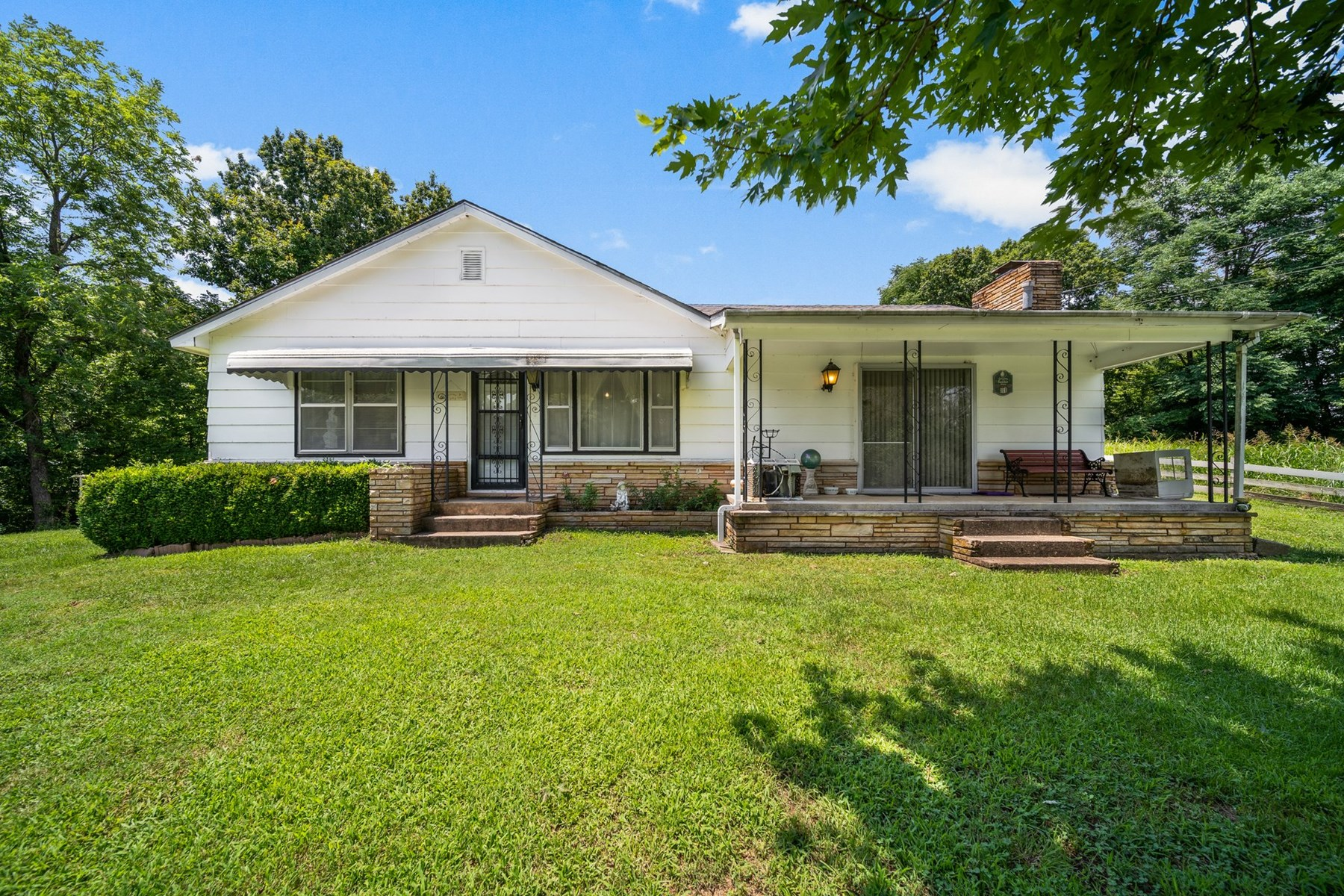 Country Home with Land For Sale in Rose, Oklahoma