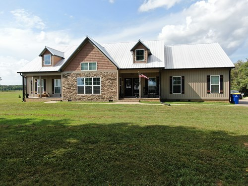 Country home & 5+ acre lot for sale near Franklin,  Ky.