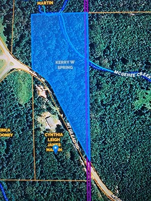 WOODED LAND FOR SALE FRANKLIN COUNTY SMITHDALE MISSISSIPPI