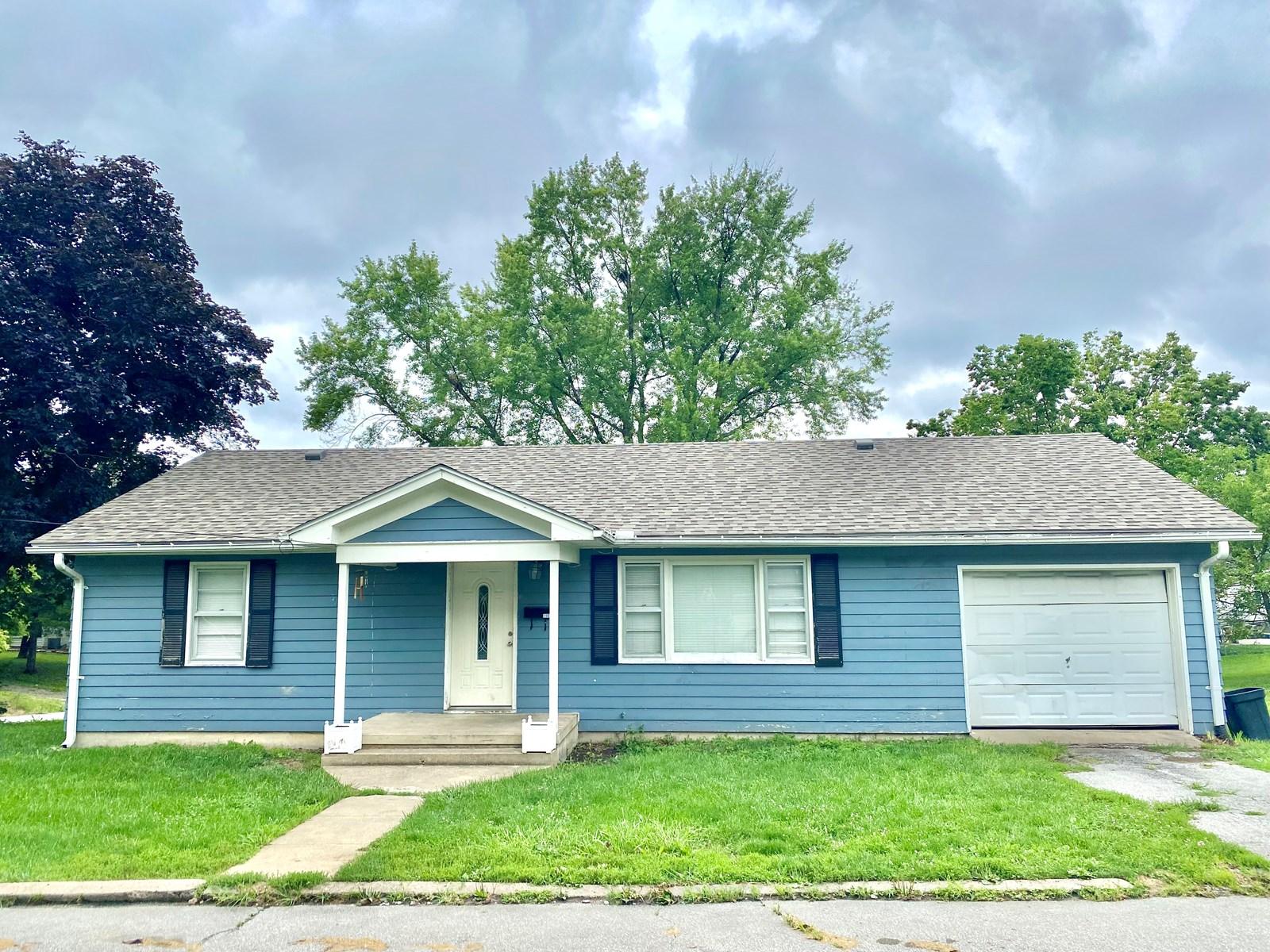 For Sale Ranch Home in Trenton Missouri