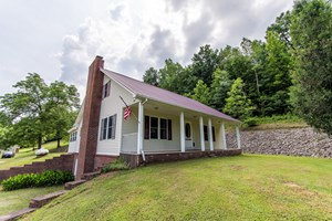 150 AC TN FARM FOR SALE CREEKS SPRING FIELD TIMBER HOME HUNT