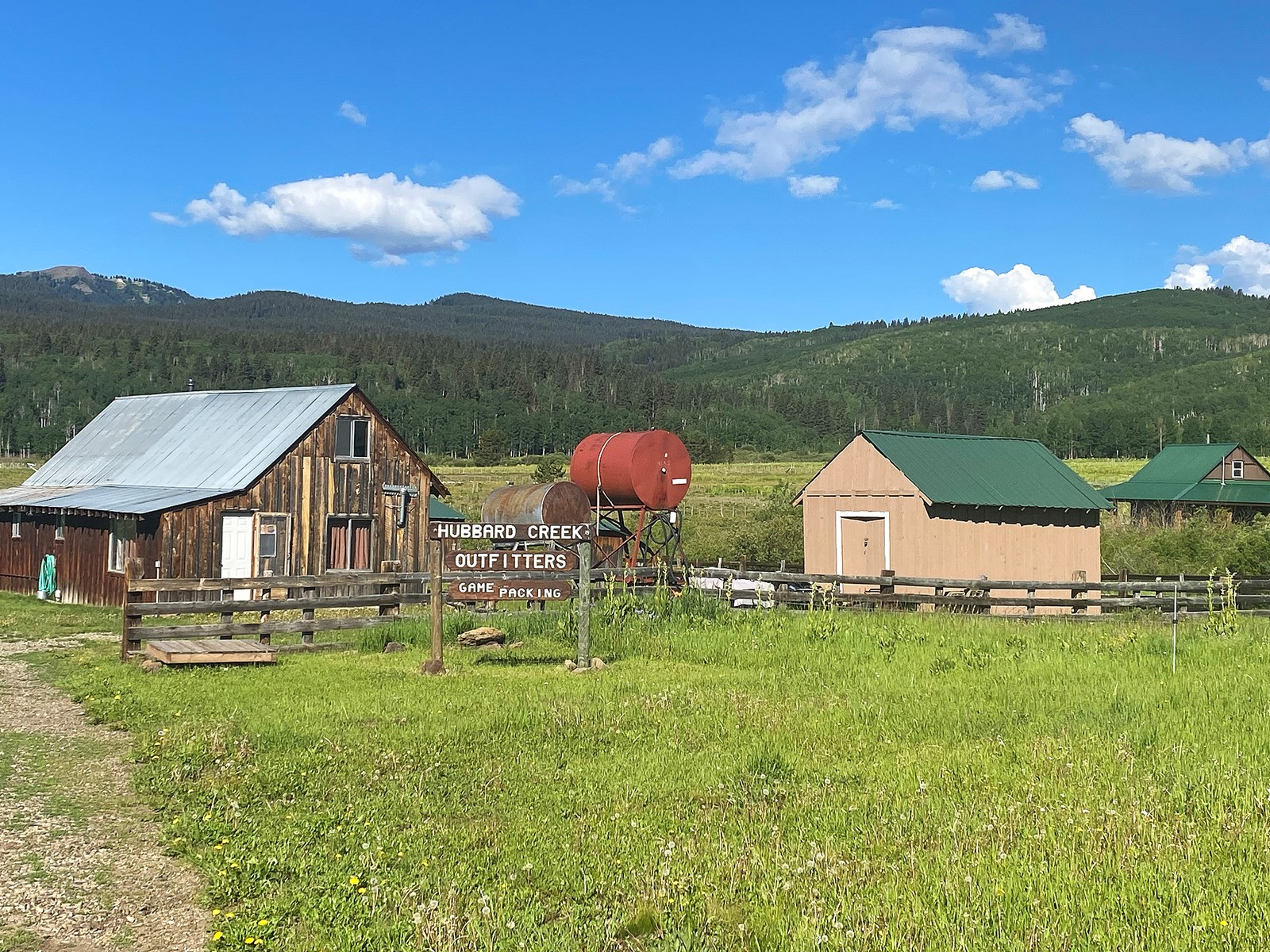 Colorado outfitting business for sale with mountain cabin