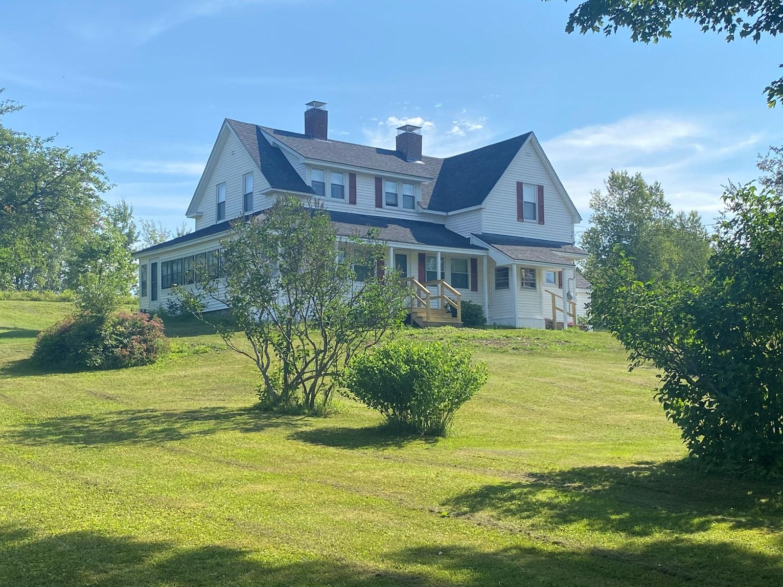 Farmhouse in Mattawamkeag, Maine