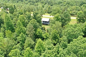 PENDING TINY HOME ON 46.23 ACRES NEAR THE TENNESSEE RIVER!