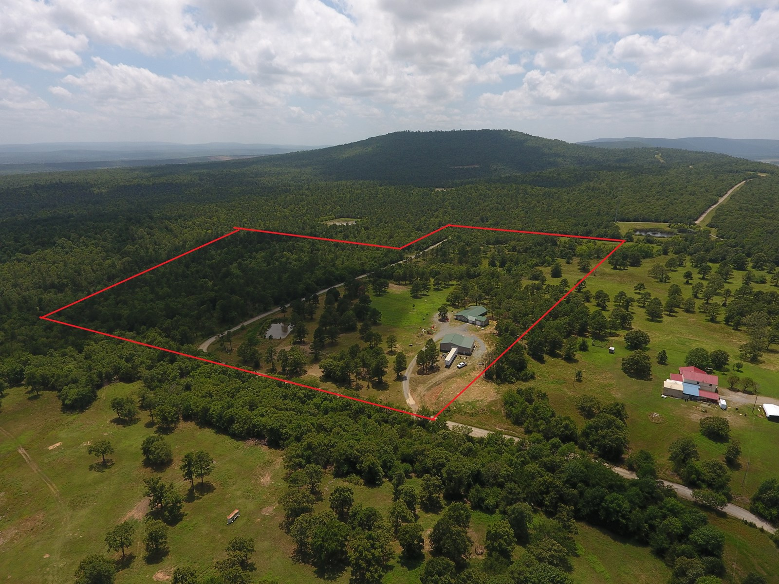 Turkey Creek Home and 41.48 Acres For Sale