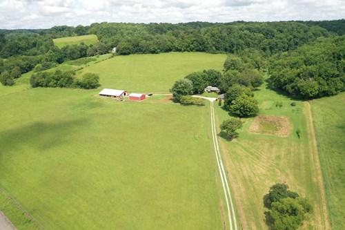 FARM FOR SALE IN TN W/ HISTORIC CABIN NEAR NASHVILLE TN