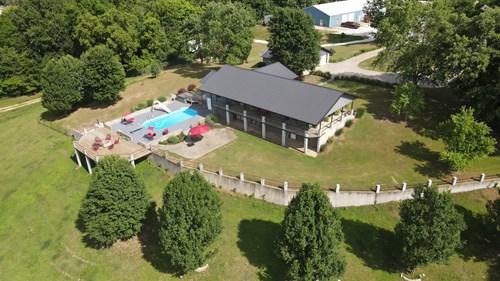 War Eagle Creek River Front Home For Sale- Huntsville AR
