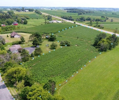 4.37 acres vacant land for sale Westby, WI - building  lot
