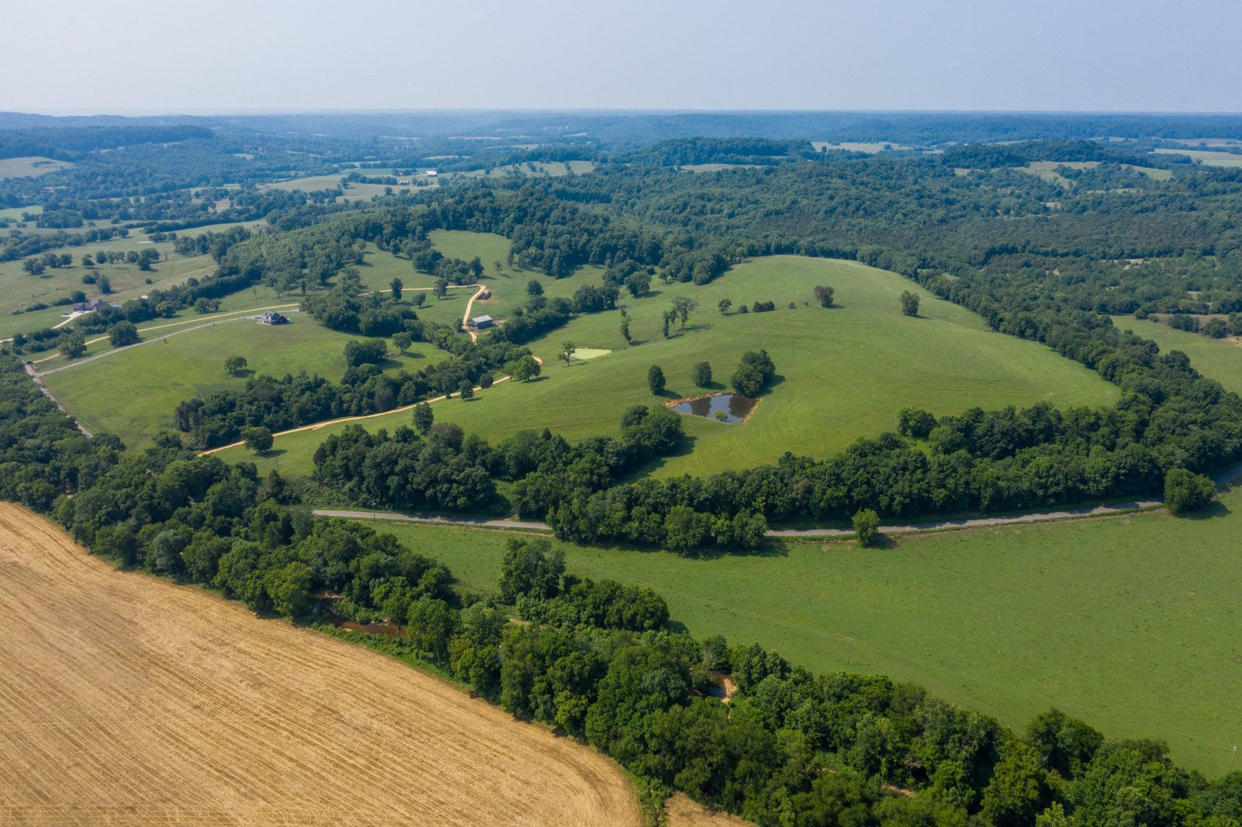 Cattle Farm with Acreage for Sale in Hampshire, Tennessee