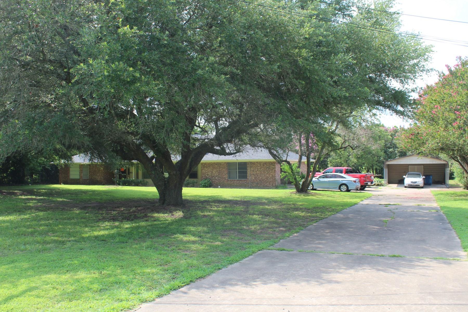 BRICK HOME WINNSBORO TEXAS WOOD COUNTY EAST TX    3BR-2.5BA