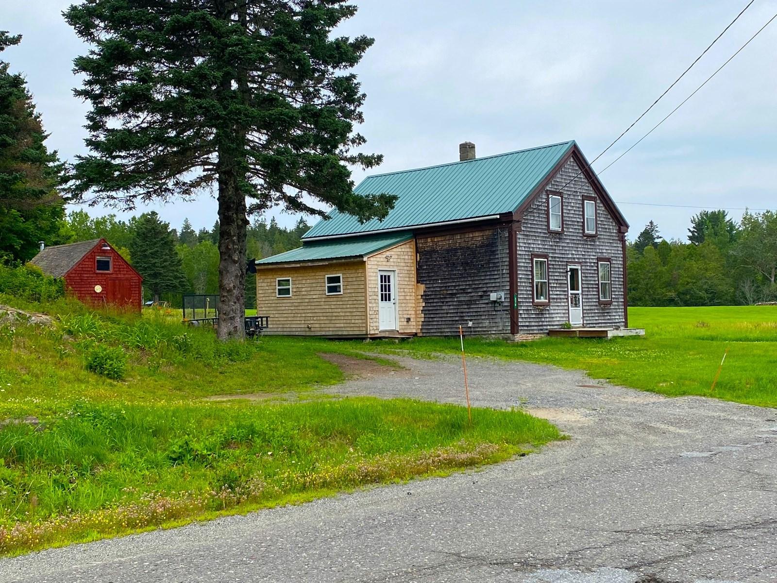 1800's Farmhouse in Lubec, Maine