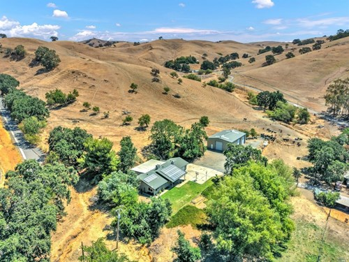 Private N CA Paradise Valley Ranch with Home & Shop For Sale