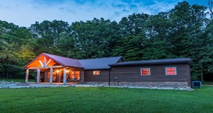 LOG STYLE HOME WITH 152  ACRES IN ADAMS COUNTY OHIO