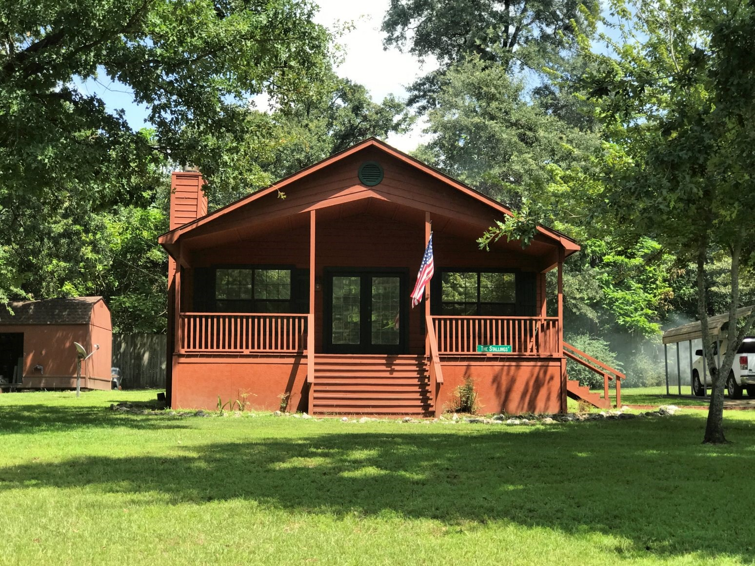 SMALL HOME FOR SALE LAKE PALESTINE | FISHING PROPERTY