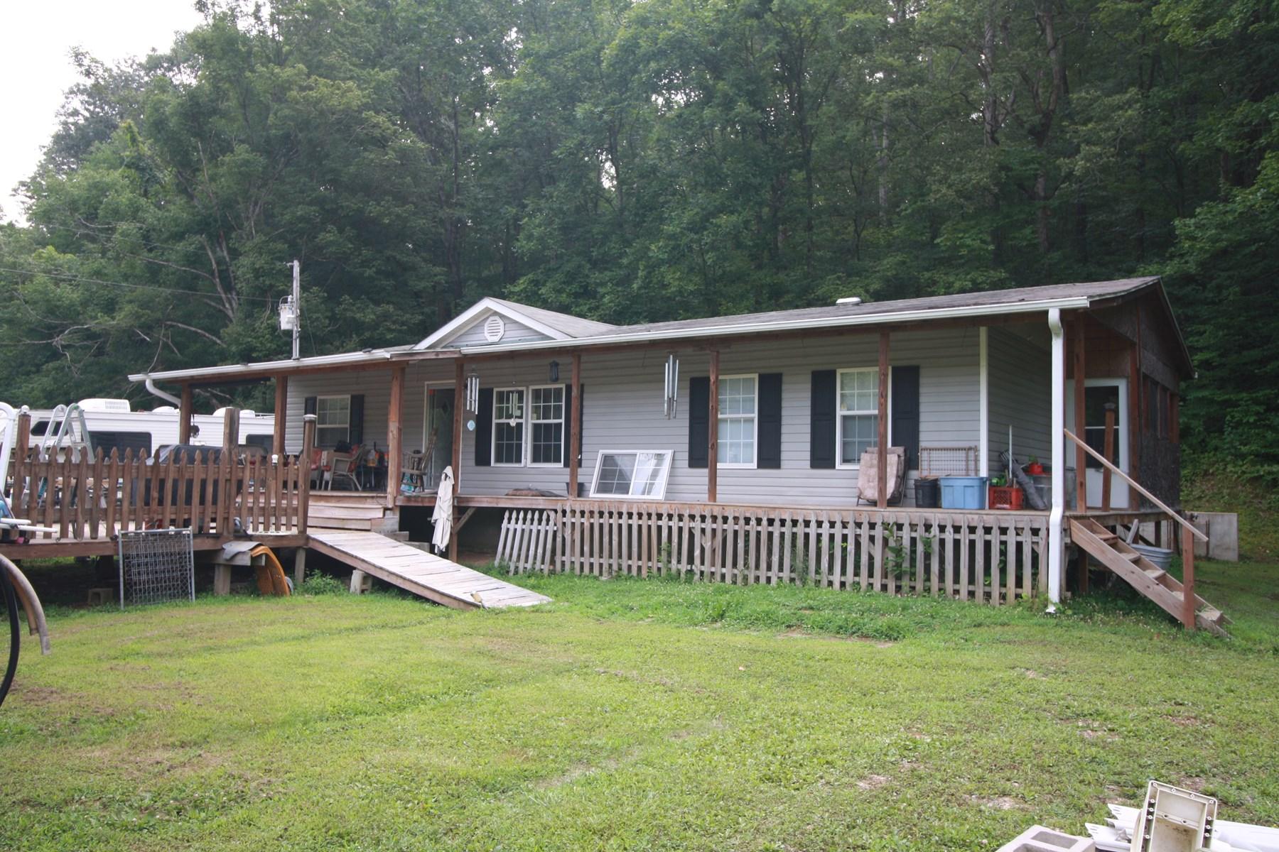 Wayne County Missouri Home and land for sale