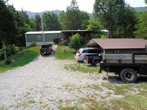2 BR, 2 BA MOBILE HOME ON 2 ACRES FOR SALE IN HANCOCK CO. TN