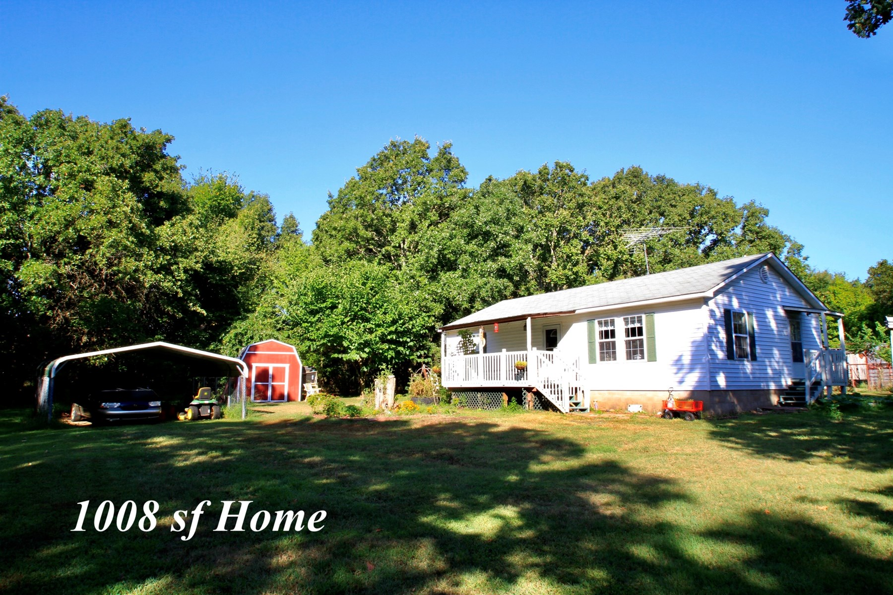 ACREAGE WITH 2 HOMES FOR SALE IN DELAWARE COUNTY