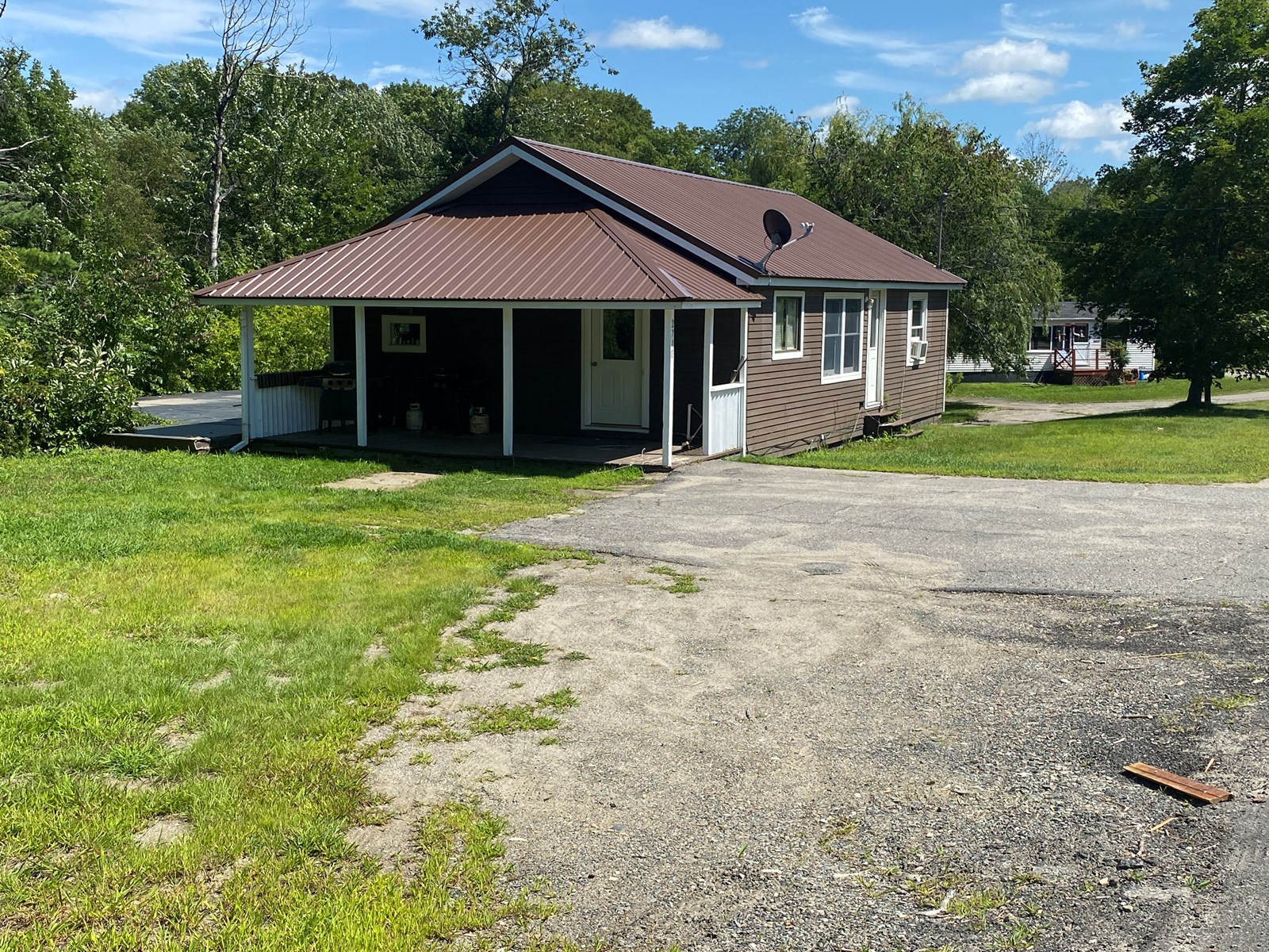 Ranch home in Lee, Maine