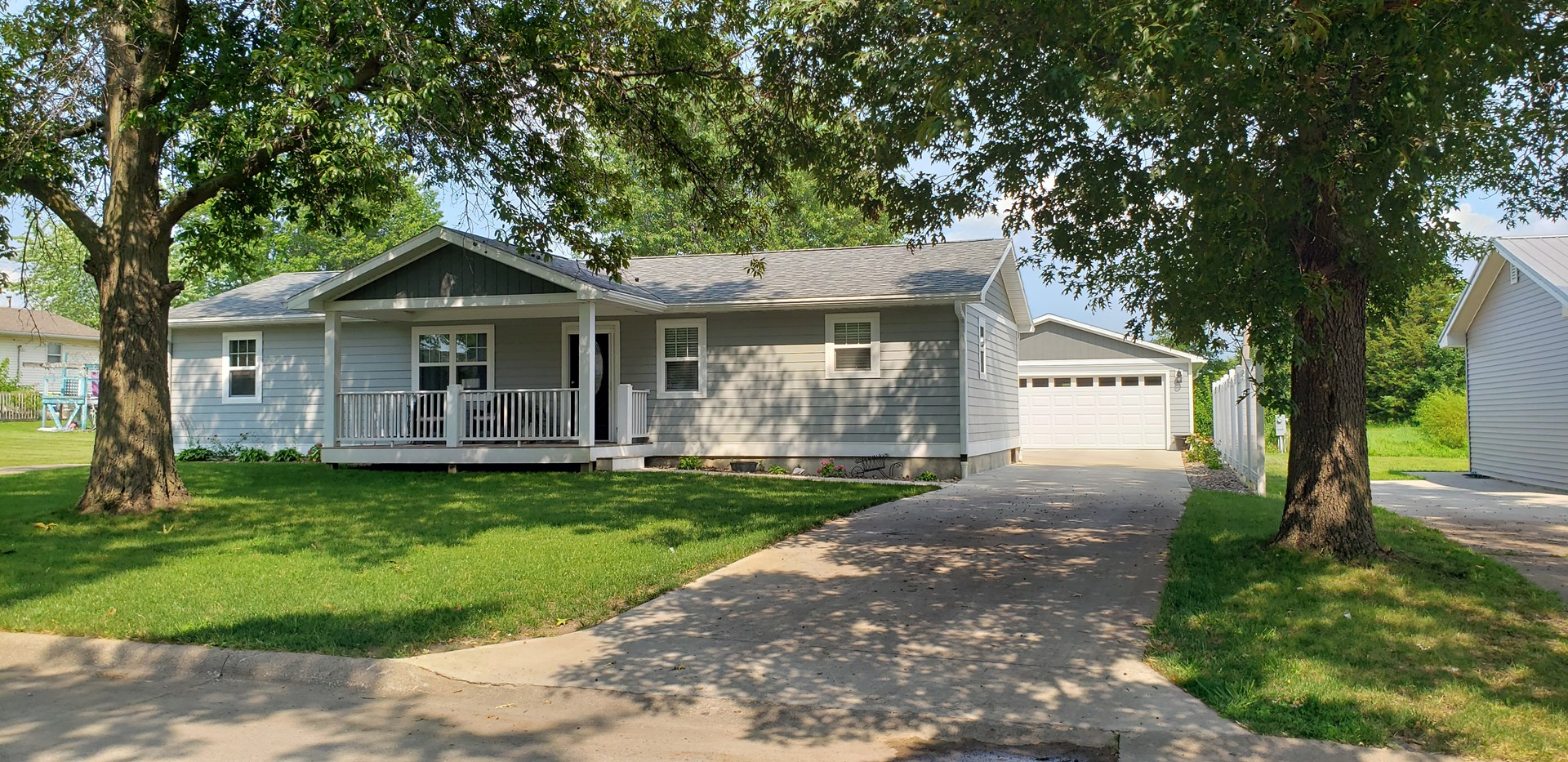 Remodeled Ranch Style Albia Home For Sale