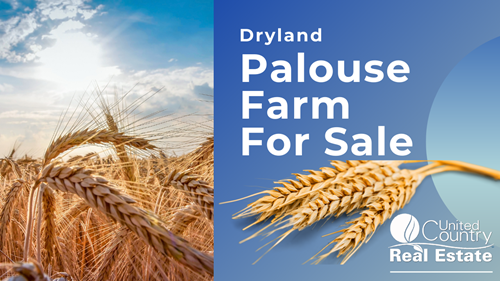 Palouse dryland farm ground for sale Genesee, Idaho