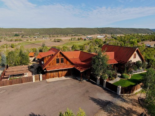 Colorado Mountain Luxury Home For Sale on 13 Acres